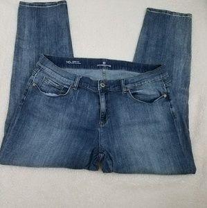 Liz Claiborne boyfriend skinny jeans